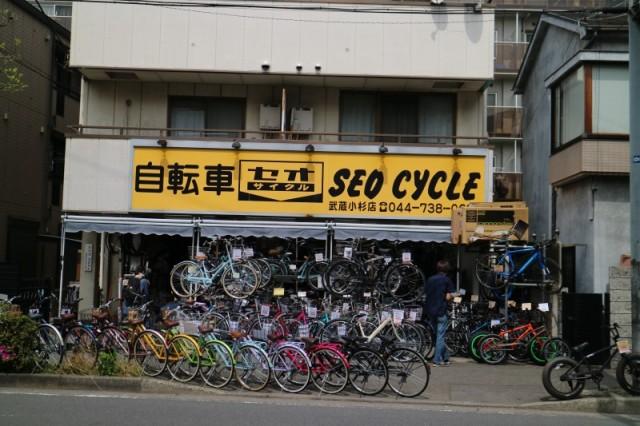 セオサイクル武蔵小杉店