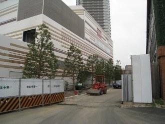 フーディアム武蔵小杉店/コナミスポーツクラブ武蔵小杉・北側より