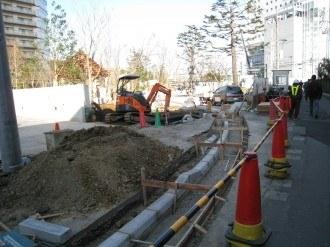 都市計画道路4号 武蔵小杉駅南口線接続部