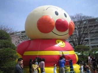 富士通春まつり アンパンマンのエアーハウス