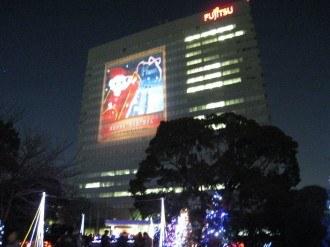 富士通のクリスマスイベント