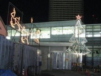 武蔵小杉駅のイルミネーション