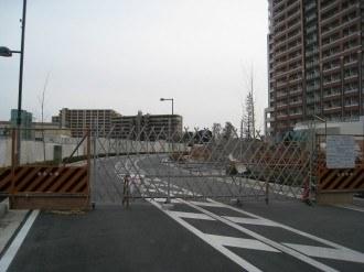 都市計画道路 武蔵小杉駅南口線の行き止まり