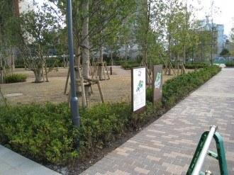リエトコート武蔵小杉の公開空地