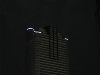 パークシティ武蔵小杉のライトアップ 拡大