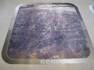 溝の口の航空写真 1939年