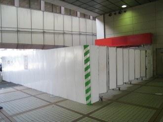 武蔵中原駅のエレベーター・1F