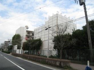 新日本石油社宅の取り壊し