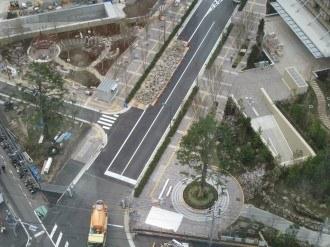武蔵小杉駅南口線 綱島街道交差点付近