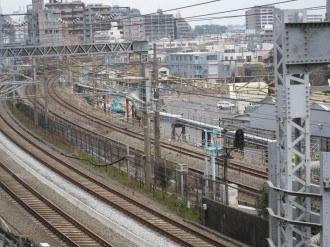 横須賀線武蔵小杉新駅工事3