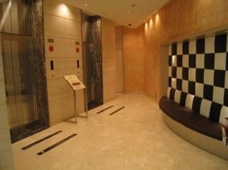 リッチモンドホテルプレミア武蔵小杉のエレベーターホール