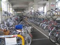 東急線高架下駐輪場