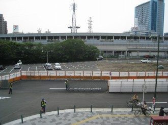 武蔵小杉駅南口地区東街区 駅前ロータリー予定地